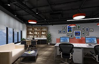 帝联科技办公室亚博全站设计