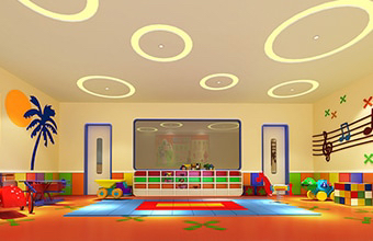 慧乐教育办公室亚博全站设计