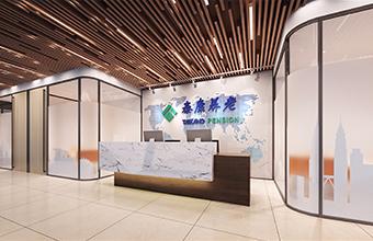 泰康人寿深圳公司办公室亚博全站设计