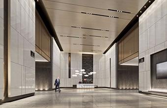 金融投资办公室大堂英国威廉希尔公司设计