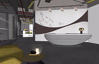 广州星爵互联科技有限公司办公室英国威廉希尔公司设计