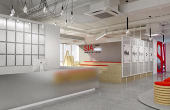 广州SIA出国人员培训中心亚博全站设计