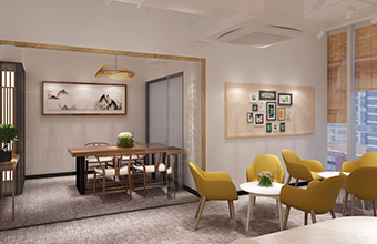 粤美商旅办公室设计英国威廉希尔公司