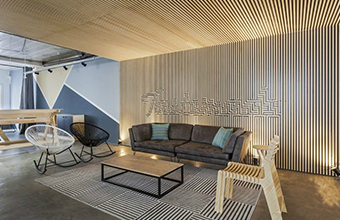 驰恒广告公司办公室亚博全站设计