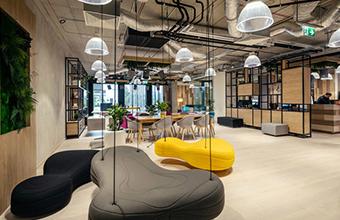 达盛传媒办公室设计英国威廉希尔公司