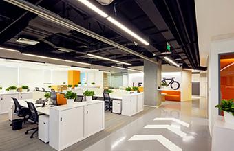 缤果文化传媒公司办公室亚博全站设计