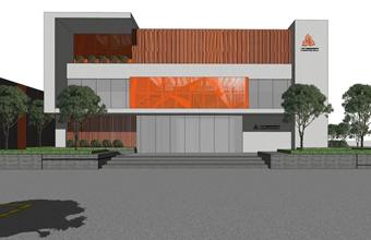 整栋办公楼设计英国威廉希尔公司-广州飞达塑料包装