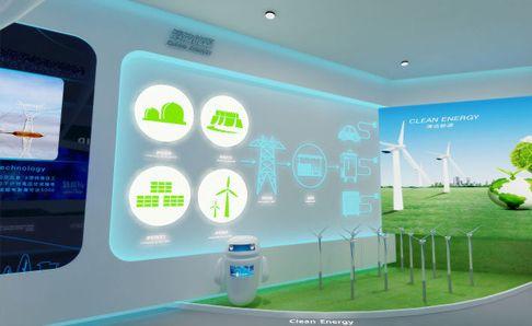 电力能源展厅亚博全站设计