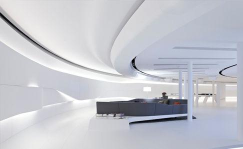 深圳美颜护肤化妆品展厅设计