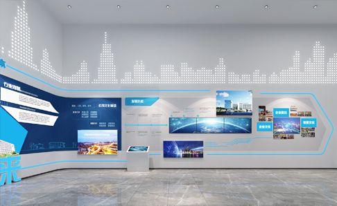 广州通巴达电气科技有限公司总部展厅设计
