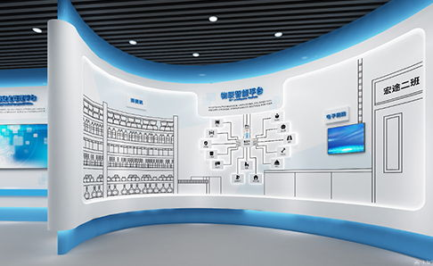 宏图教育网络科技有限公司展厅亚博全站设计